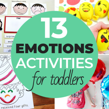 13 Games & Emotions Activities For Toddlers & Preschoolers