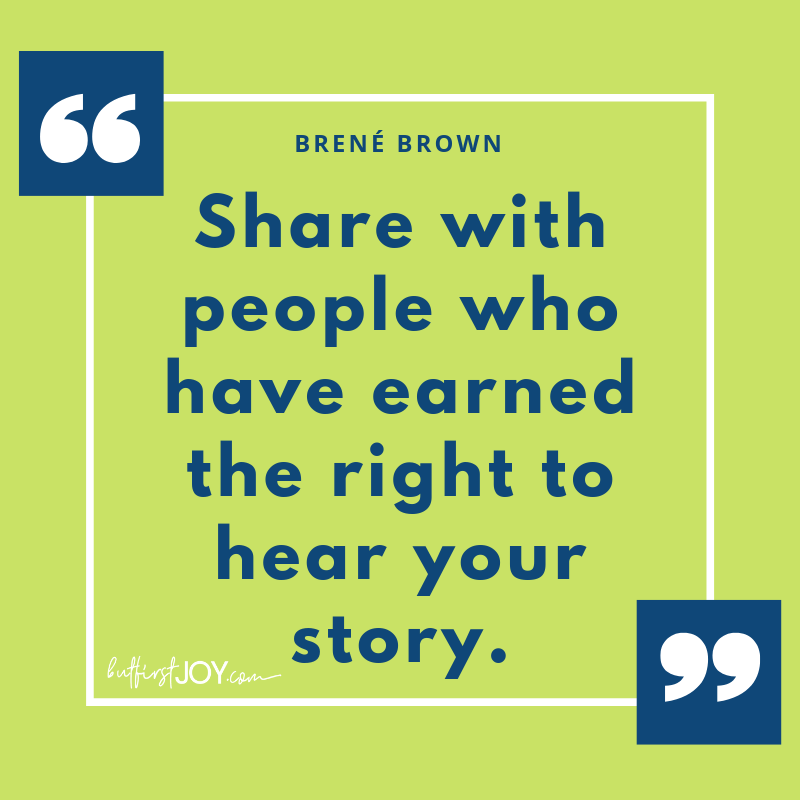 Brene Brown Quotes - Your Story