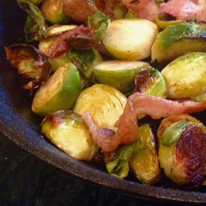 Keto Brussel Sprouts with Bacon Recipe