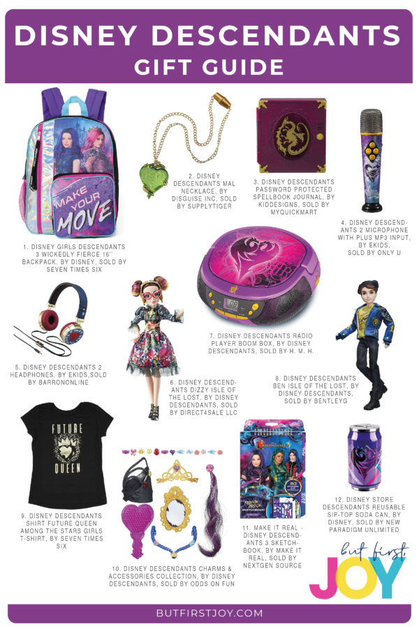 These are the best Disney Descendants gifts for super fans of the Disney channel movie series. All gifts can be purchased right on Amazon.