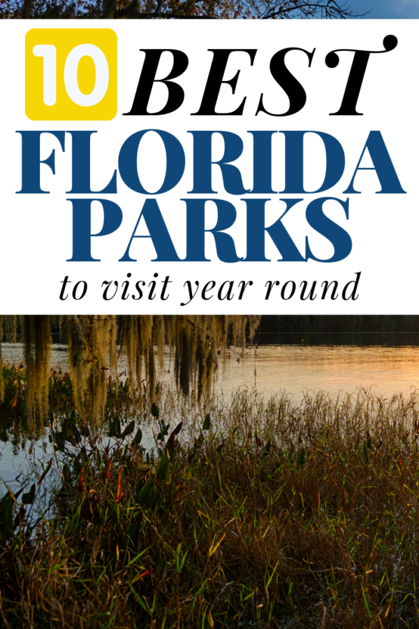 Florida is full of beautiful locations to visit with the family but these come highly recommended as the best parks in Florida to visit anytime of the year.