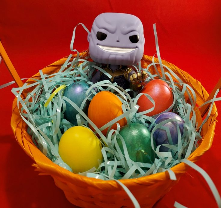 Super Easy DIY Infinity Stone Eggs