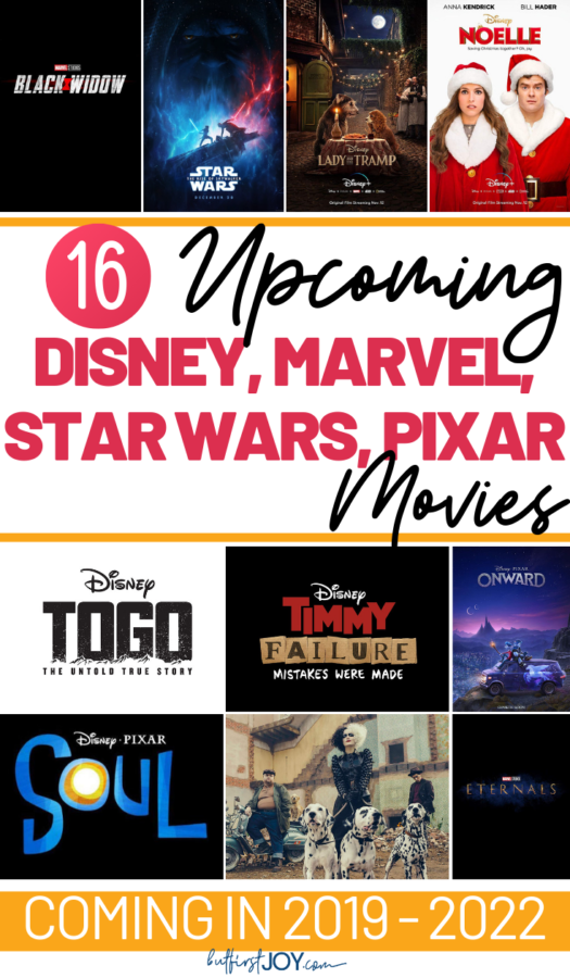 These are all the D23 Expo 2019 Movie Announcements for Disney, Star wars, Pixar, and Marvel!