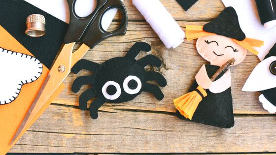 31 Days of Halloween Crafts for Kids