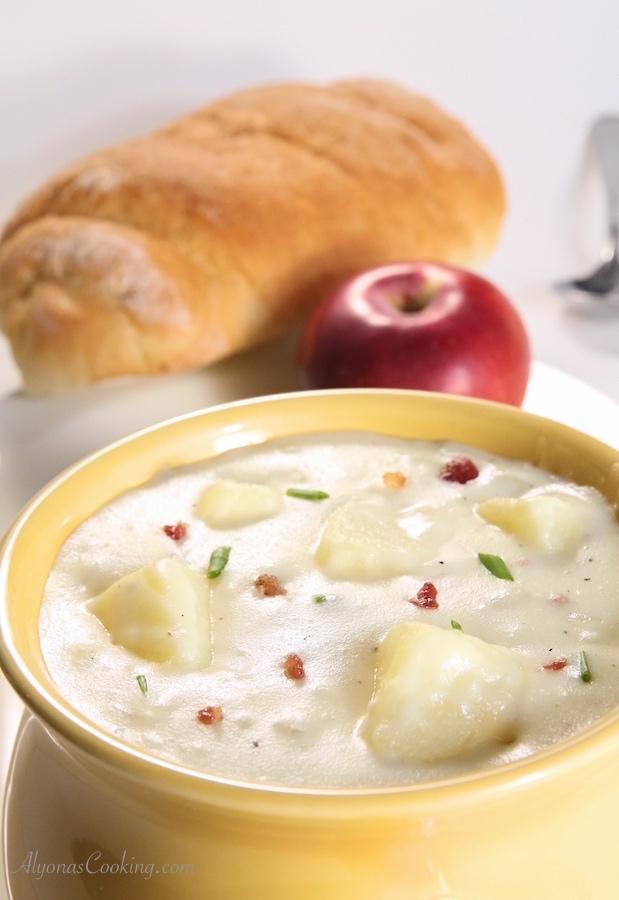 13. Baked Potato Soup – Panera Bread Copycat Recipe