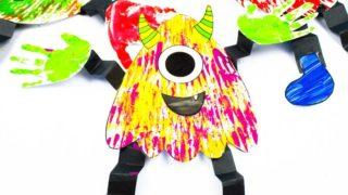 Big Hand Paper Monster Craft