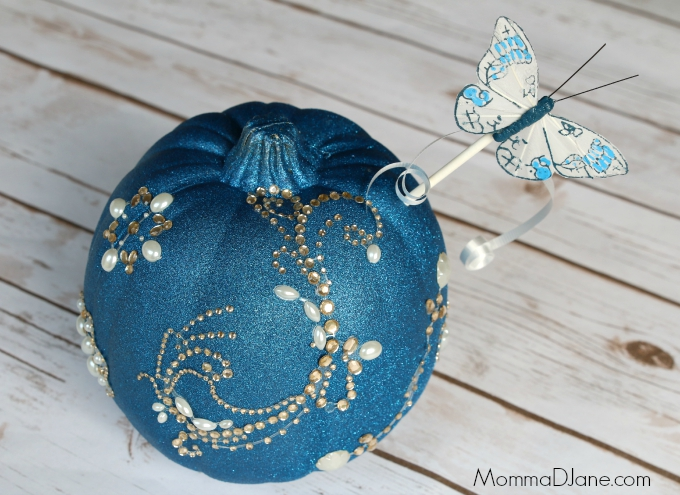 Painted Cinderella Pumpkin