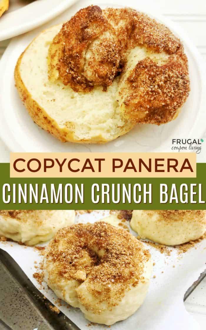 14. Copycat Cinnamon Crunch Bagel