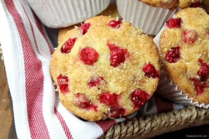 17. Cranberry Orange Muffins {Panera Copycat Recipe}