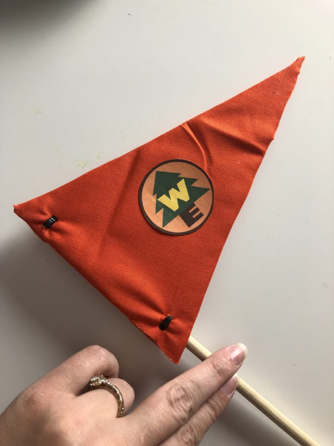Russell Up Flag - How to make