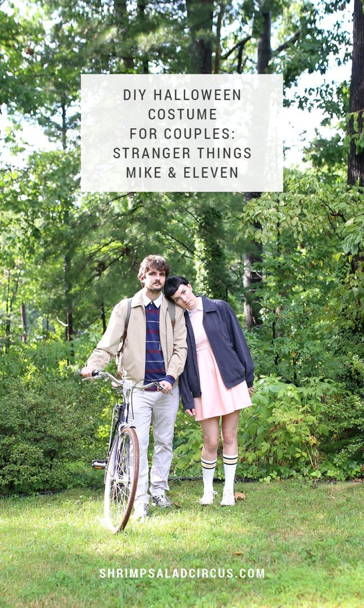 DIY Stranger Things Halloween Costume for Couples – Mike and Eleven