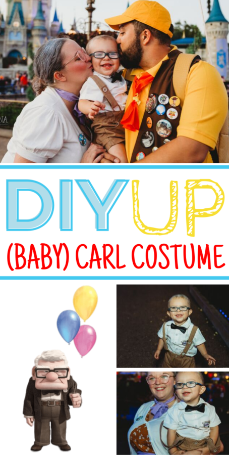 Carl Up Costume DIY