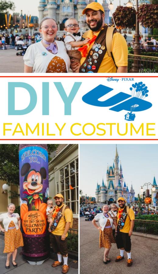 Disney up Group costume Idea