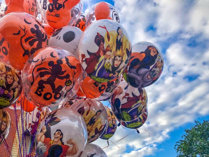Halloween Balloons Disney