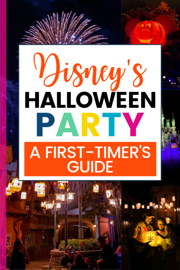 Disney Halloween Party with Toddlers
