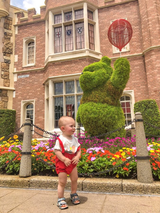 Tips for Disney with a newborn