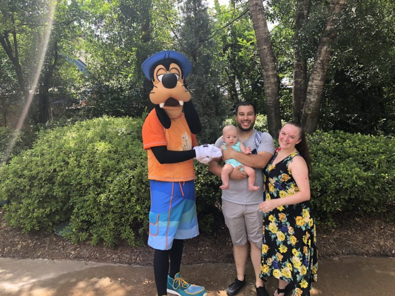 Tips for Disney with an Infant