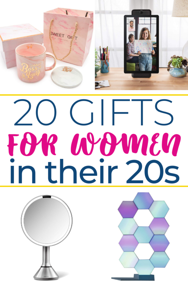 Searching for exciting gifts for women in their 20s? Here are twenty unique and fun gifts for 20 somethings. These gift ideas are sure to make her smile!