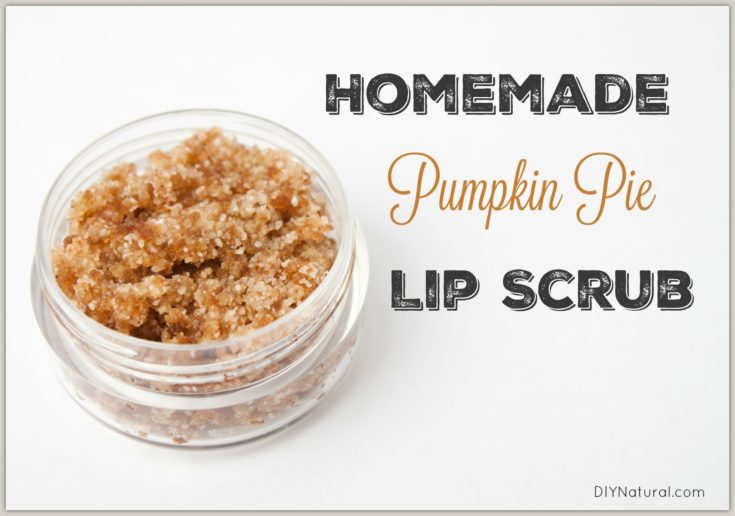 Homemade Lip Scrub: Pumpkin Pie Lip Scrub Recipe