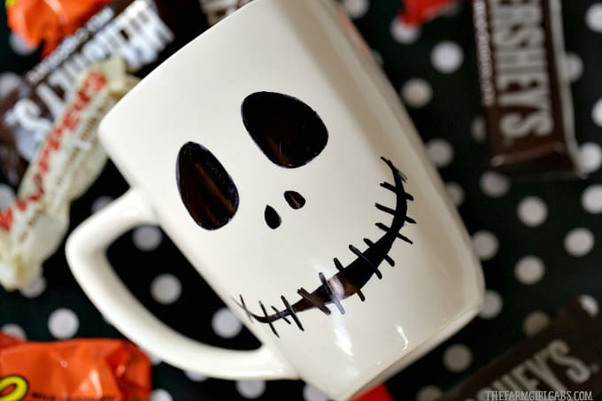 Jack Skellington Sharpie Mug