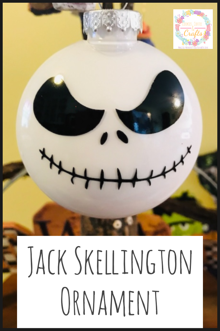 DIY Jack Skellington Christmas Ornament