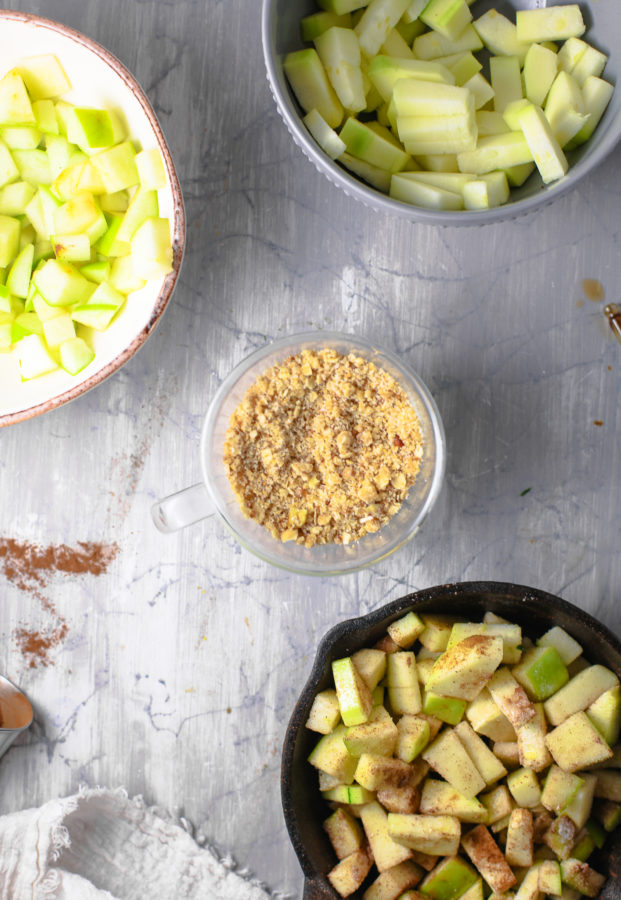 how to keto apple crisp low carb