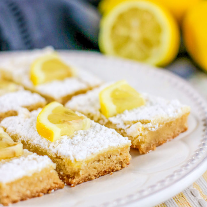 Sugar-Free Lemon Bars Recipe