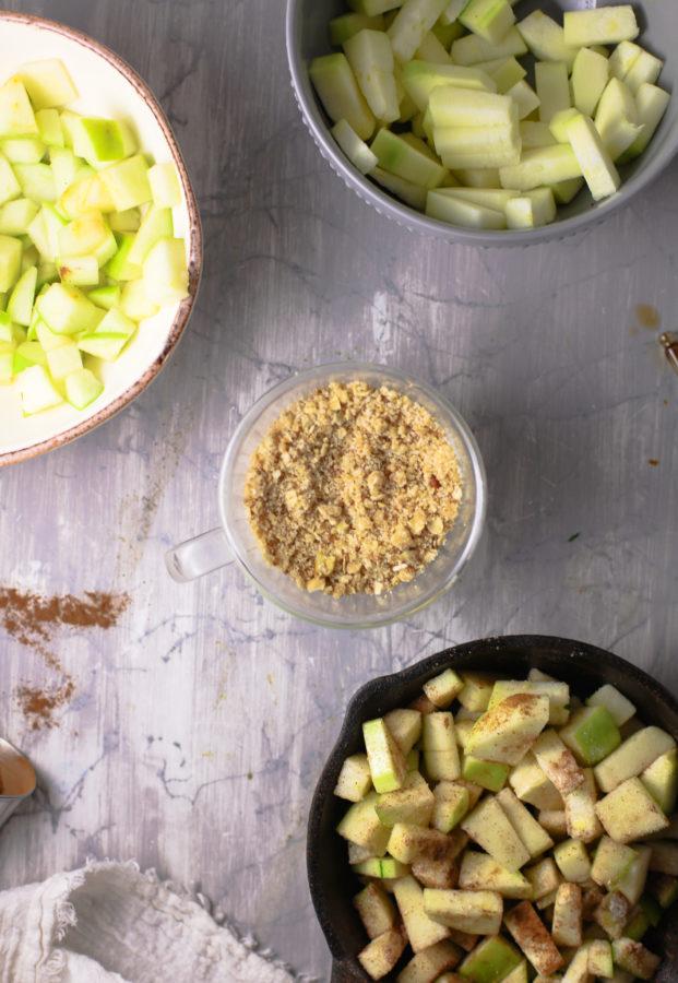 keto apple crisp ingredients