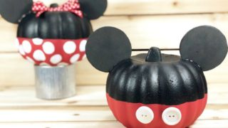 Mickey & Minnie Mouse Pumpkins