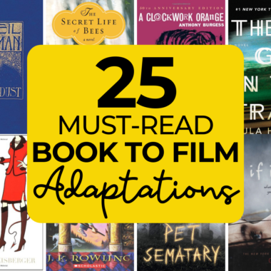 These book to film adaptations are must-reads for anyone who is a fan of bestsellers becoming movies.