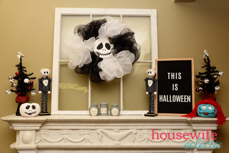 The Nightmare Before Christmas Mantel