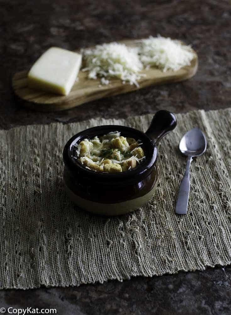 12. Panera Bread Bistro French Onion Soup