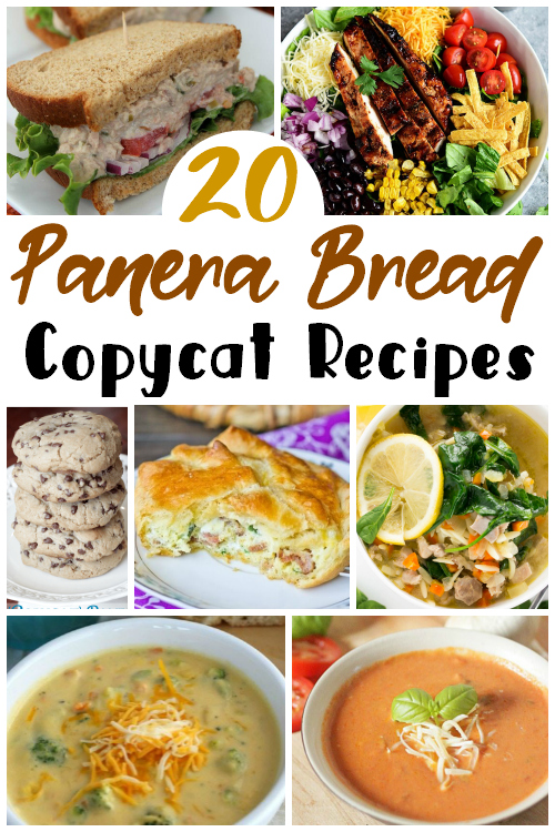 Copycat Panera Bread Recipes are the perfect way to get those comforting meals right at home. You'll spend way less and get so much more!
