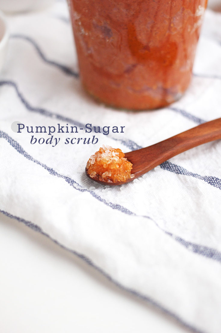 Pumpkin-Sugar Body Scrub