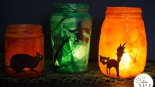Upcycled Halloween Lanterns