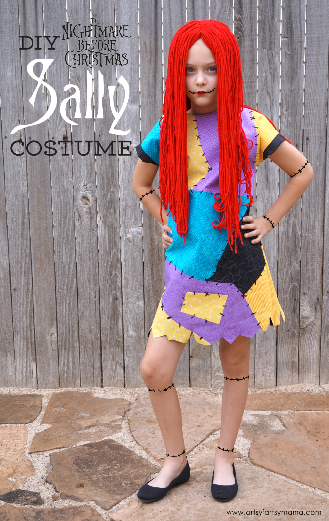 DIY Nightmare Before Christmas Sally Costume