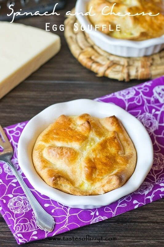 20. Spinach and Cheese Egg Souffle {An Easy Copycat Panera Recipe for Breakfast}