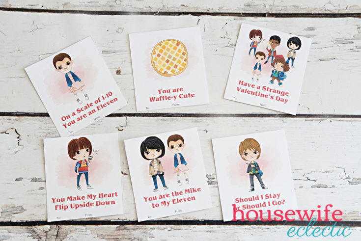 Free Printable Stranger Things Valentines