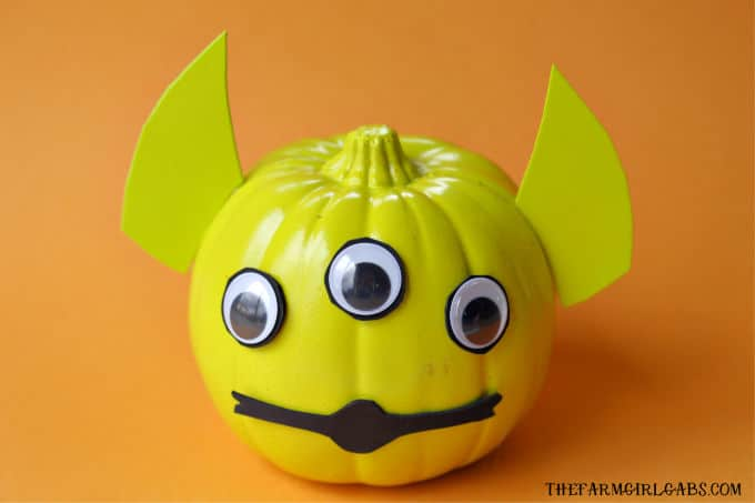 Toy Story Alien Pumpkin