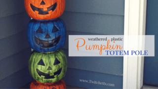 Pumpkin Totem Pole DIY