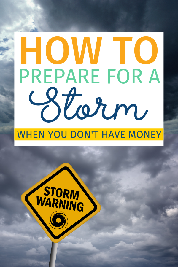 There are many of ways to prepare for a storm when you don't have money to spare. Believe it or not, there are a lot of local places that offer free supplies. In addition, you can use these tips to prepare with what you already have in your home. #GoAwayDorian #HurricaneSeason