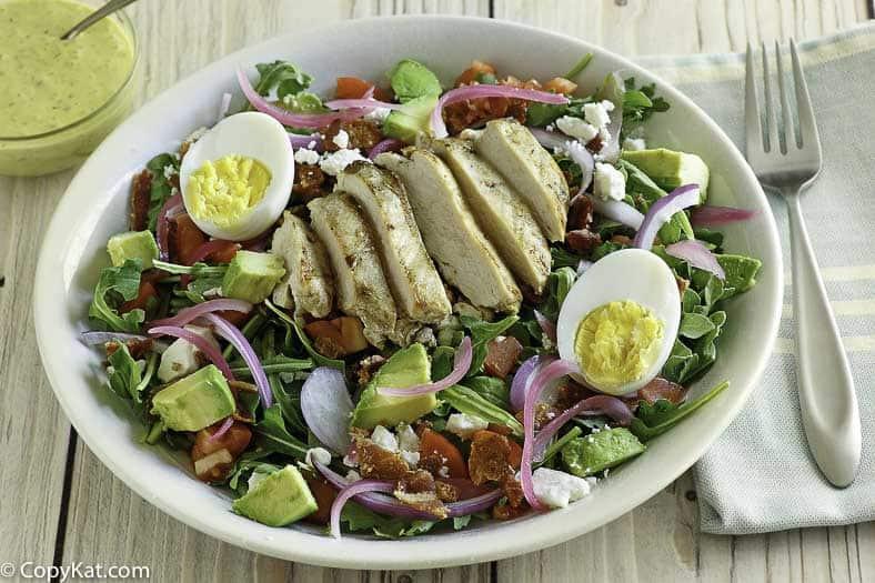 Panera Bread Copycat Green Goddess Salad