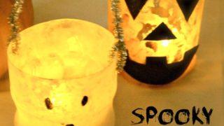 Plastic Bottle Halloween Lanterns