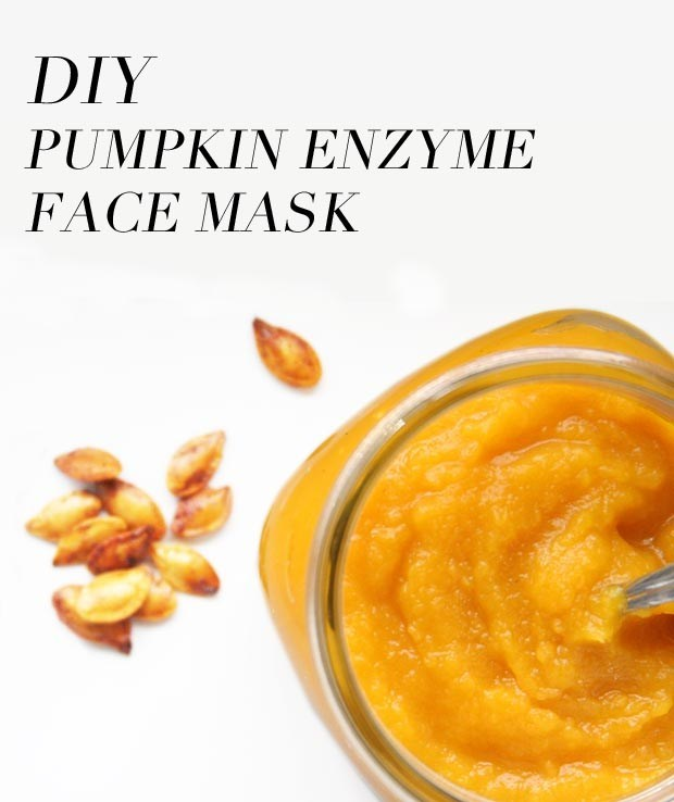 Pumpkin Enzyme DIY Face Mask