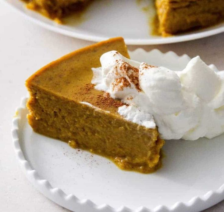 Low carb Pumpkin pie pudding