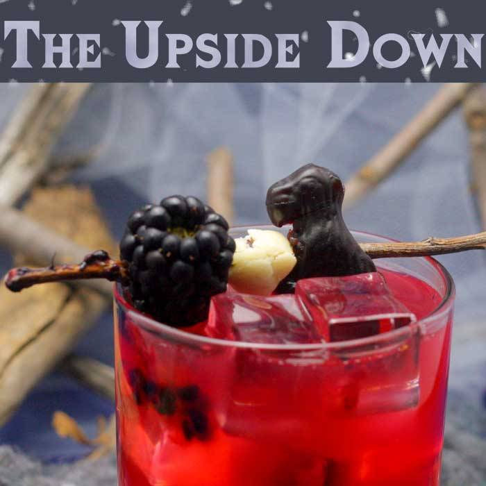 The Upside Down - Blackberry Cocktail