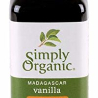 Simply Organic Non-Alcoholic Vanilla Flavoring, Madagascar | Certified Organic