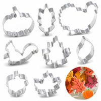 8PCS Large Fall Thanksgiving Cookie Cutter Set