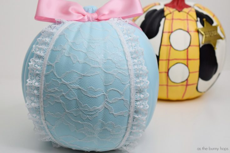 Celebrate Toy Story 4 With A No-Carve Bo Peep Pumpkin