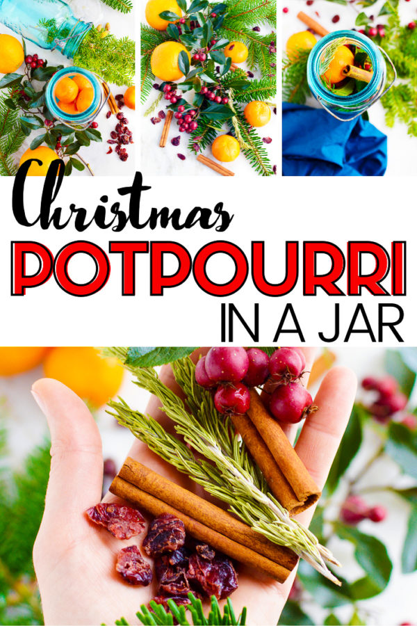 Christmas in a jar gift